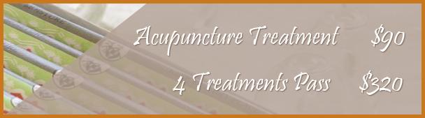 Acupuncture Price